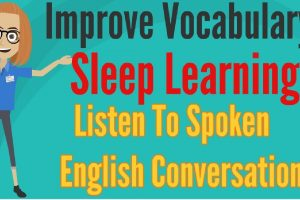 Improve Vocabulary ★ Sleep Learning ★ Listen To Spoken English Conversation, Binaural Beats Part 24✔