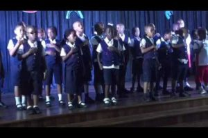 La Marseillaise sung by NIS Primary students
