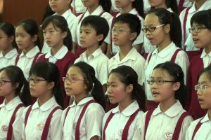 On Eagle's Wings (乘鷹翅膀 – 協和小學) w/ Chinese, English, French  & Spanish lyrics