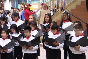 Delia School of Canada Elementary Choir Performance 2017 12 12 1559 太古城中心
