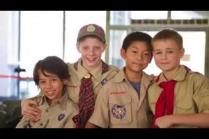 Scouts at Yew Chung International School of Shanghai