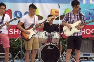 Shatin college school fair 2016 chingjam