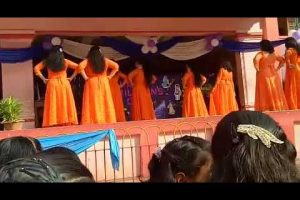 Children's day special dance performance by teachers of Carmel school, Rourkela.