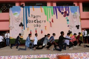 Teachers day dance Carmel School Ambikapur