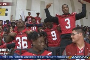 FOX 13 Pep Rally: Clearwater High School