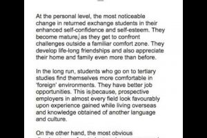 48. Advantages and disadvantages of international student exchange programs