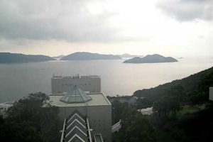Clear Water Bay from HKUST