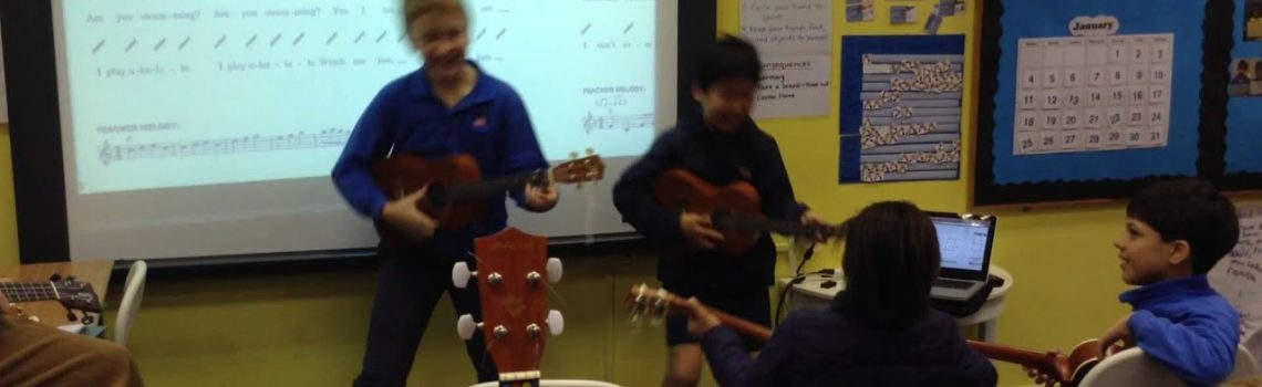 Music: Learning the Ukulele at The Harbour School Hong Kong