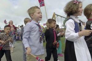 Pre-School, Maternelle and Kindergarten Parade Celebrating Norway's Constitution Day (2018)