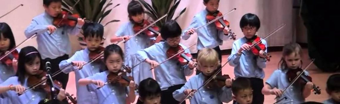 Yew Chung International School of Beijing – Year 3 Violin Concert